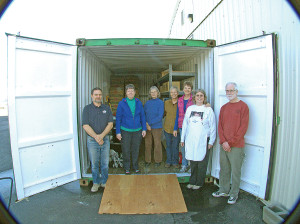 In 2014, Polson's Loaves and Fishes food pantry received a $2,000 grant from the foundation to purchase an outside storage container to help with operations.