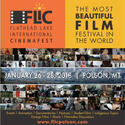 FLIC Premieres Winter Film Festival in Polson January 26-28, 2018