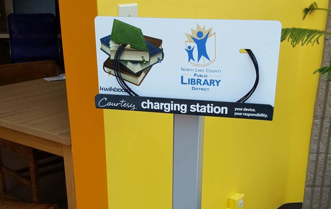 Get charged up at North Lake County Public Library