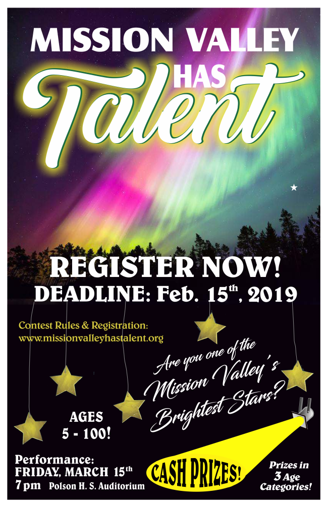 Are you the next upcoming star? – Register NOW!