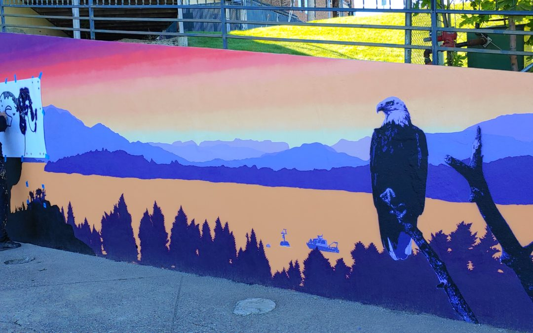Mural highlights Flathead Lake diversity and beauty
